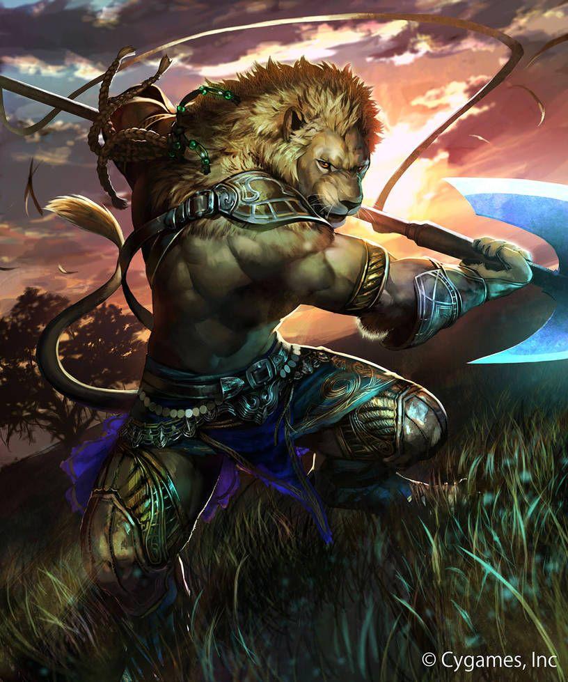 Картинки фэнтези животные воины