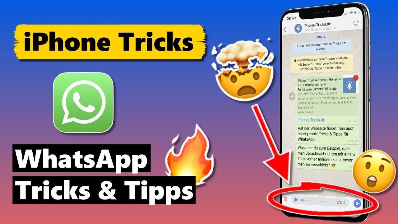 WhatsApp Tricks & Tipps fürs iPhone (2020 Update