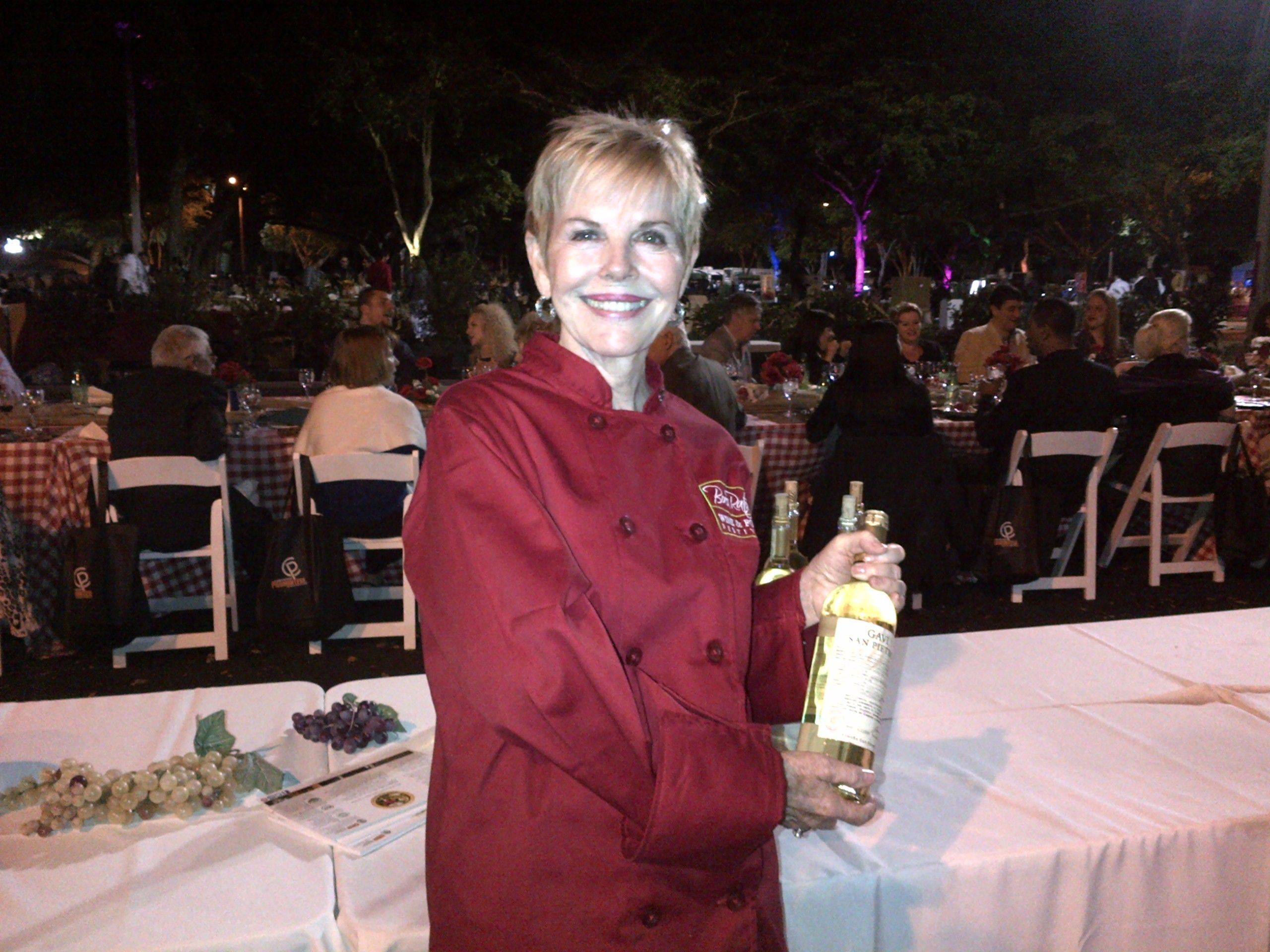 Dinner Under The Stars Boca Food And Wine Fest Join Us Tomorrow For More Great Organic Wine Wine Recipes Organic Wine Wine Event
