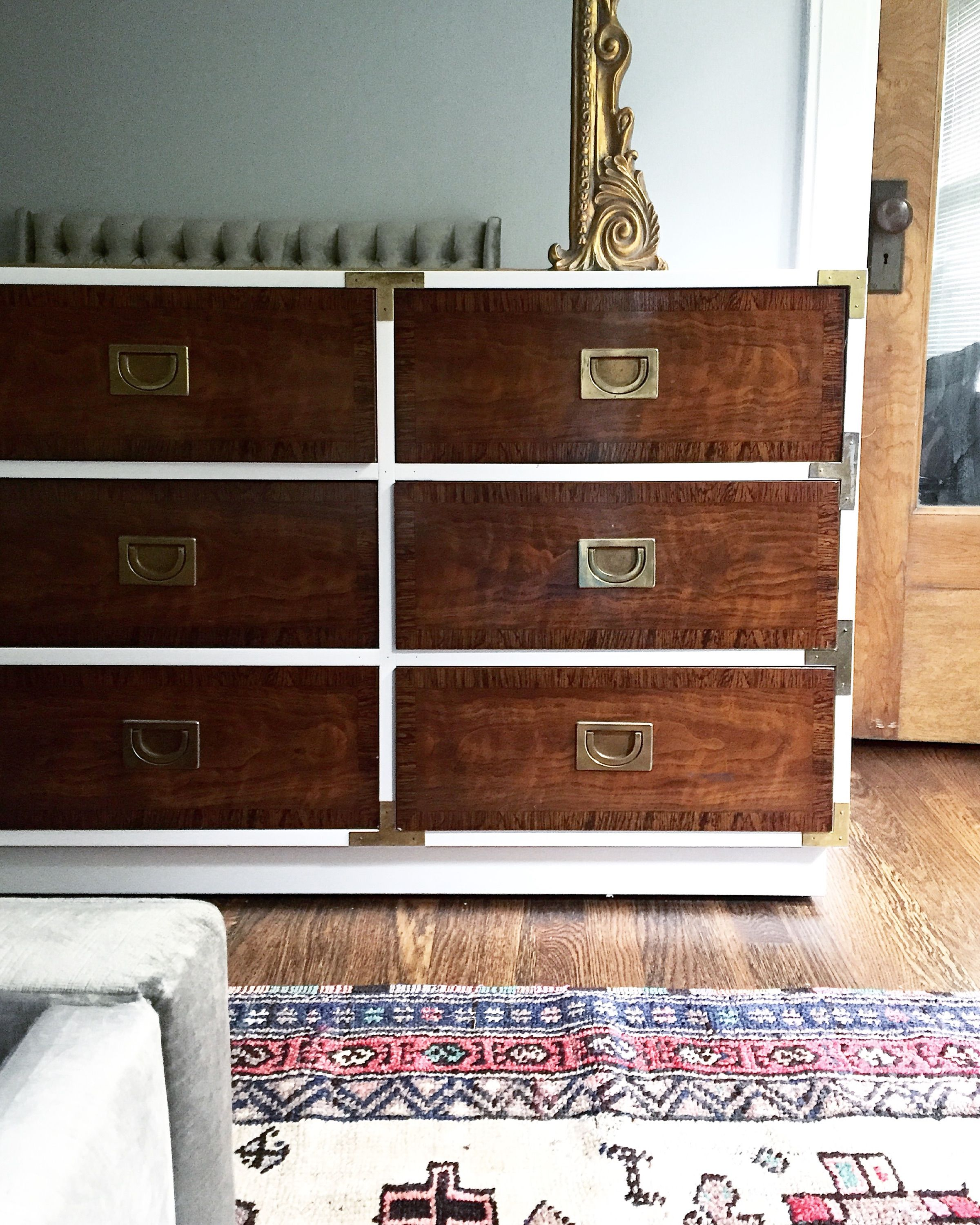 We Refinished This Campaign Dresser For Moniquevolz She Posted