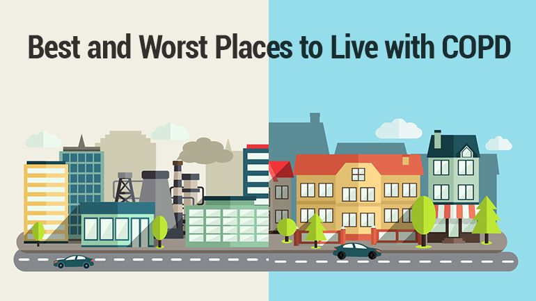 Lung Institute The Best And Worst Places To Live With Copd Copd Pulmonary Fibrosis Lungs Health