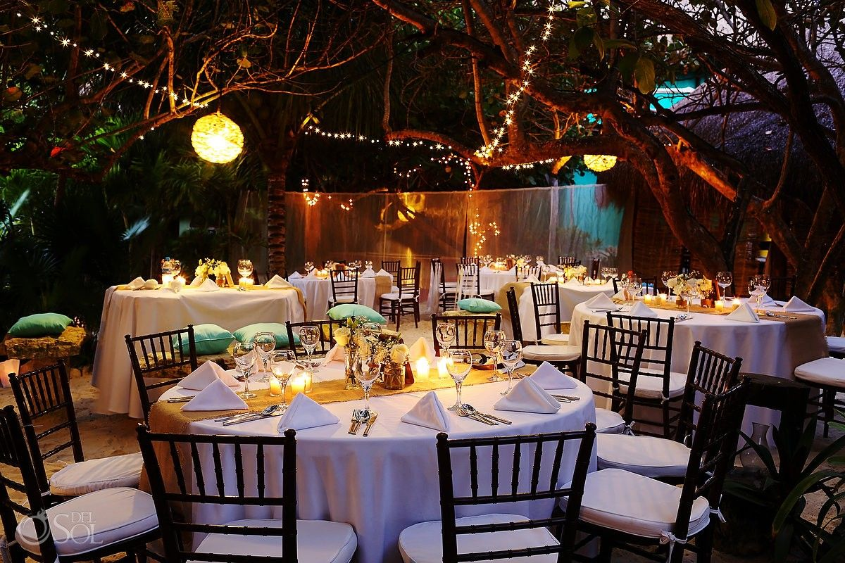 Tulum Wedding At Cabanas La Luna Great Destination Set Up In Nature Mexico