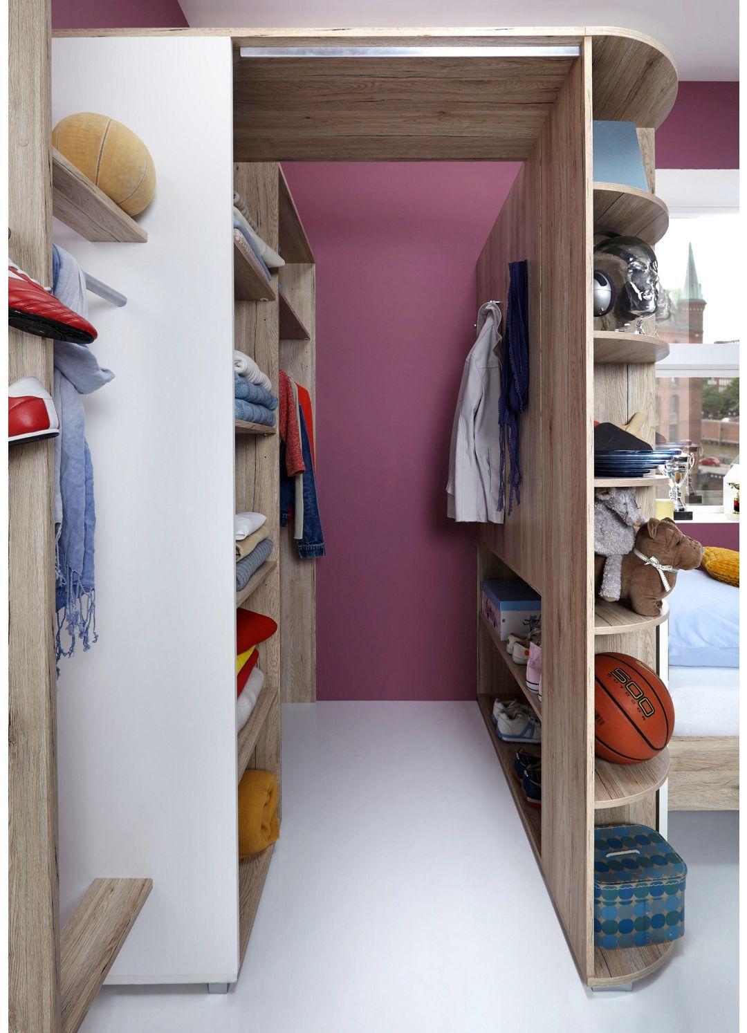 Begehbarer Eckschrank Eichefarben Alufarben Modern Begehbarer Kleiderschrank Kinderzimmer Begehbarer Kleiderschrank Begehbarer Kleiderschrank Jugendzimmer
