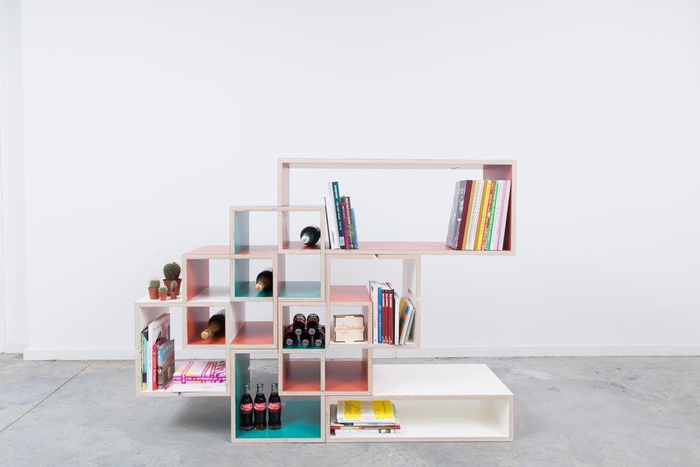 Momodul L Etagere Modulable Par Le Designer Belge Xavier Coenen Deco Chambre Design Etageres Modulables