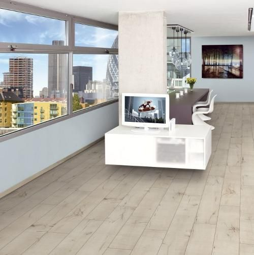White Laminate Flooring Is So Popular At The Moment