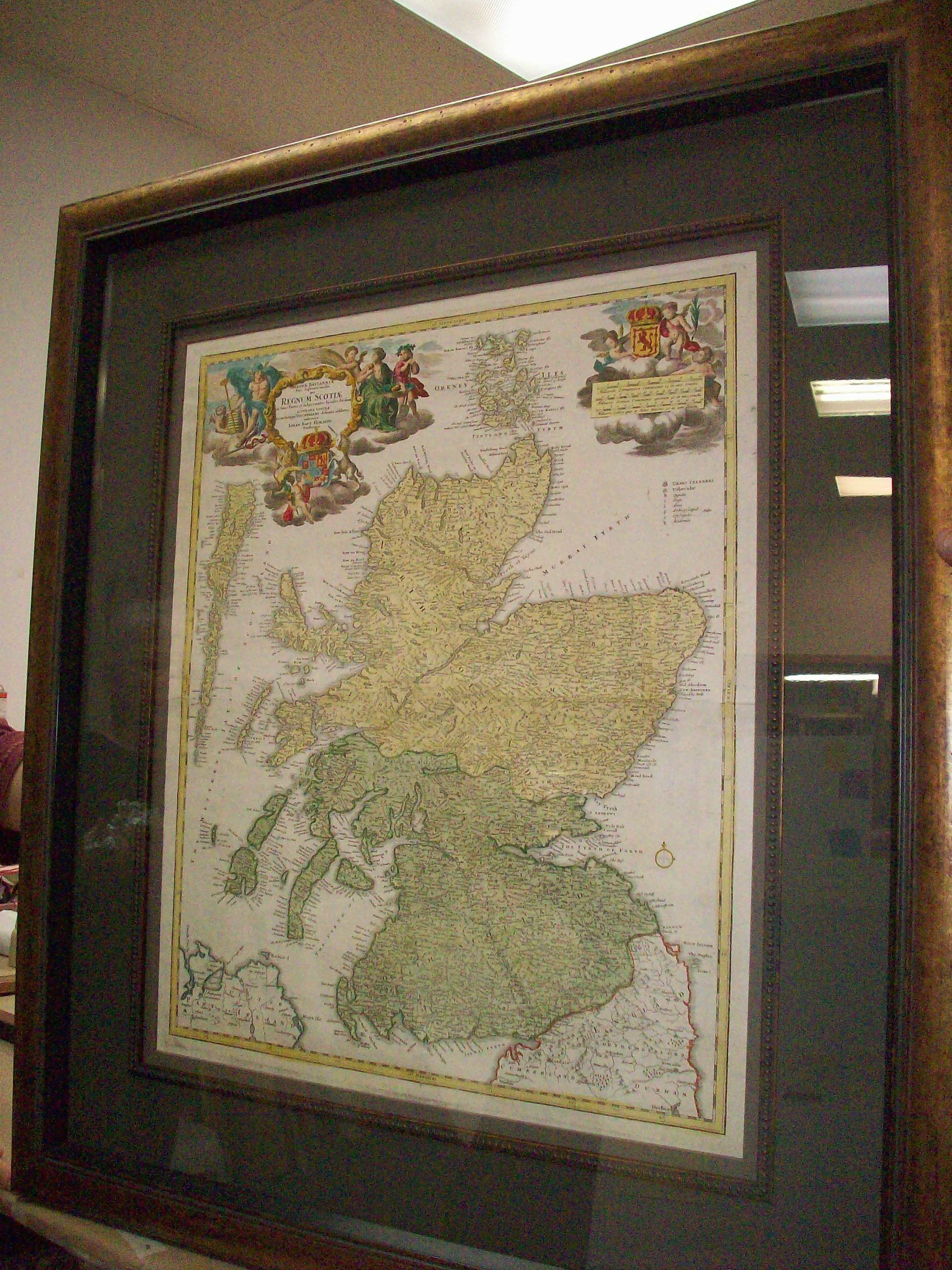 Incredible Framed Ireland Antique Map We Did For One Of Our Favorite Customers Antique Map Frame Custom Framing