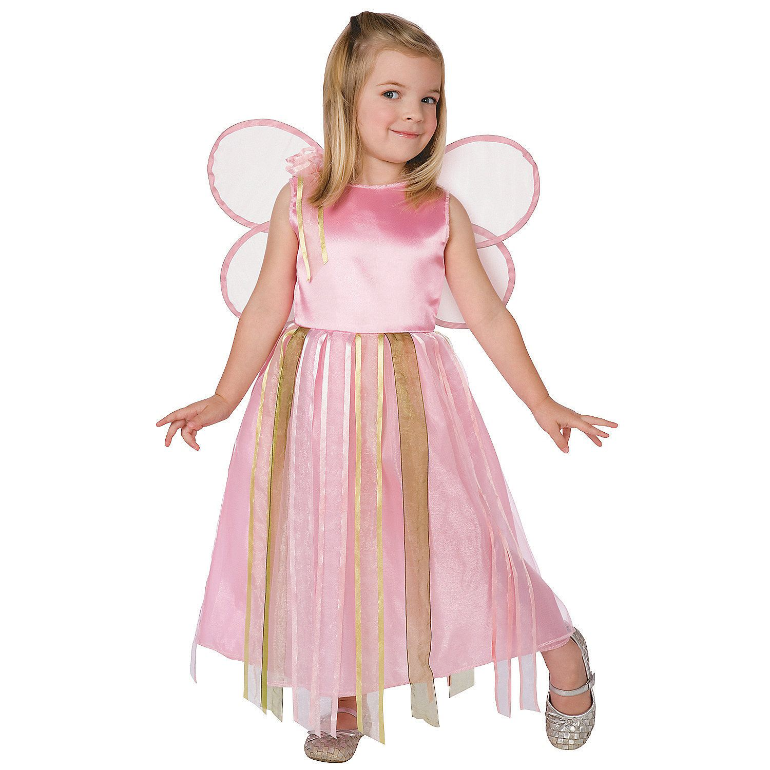 Girlu0027s Ribbon Fairy Costume - Ribbon Fairy Toddler Costume Valerie Tabor Smith Costume Includes Adorable and highly detailed ribbon dress and pink wings.  sc 1 st  Pinterest & Toddler Girlu0027s Ribbon Fairy Costume | Fairy halloween costumes ...