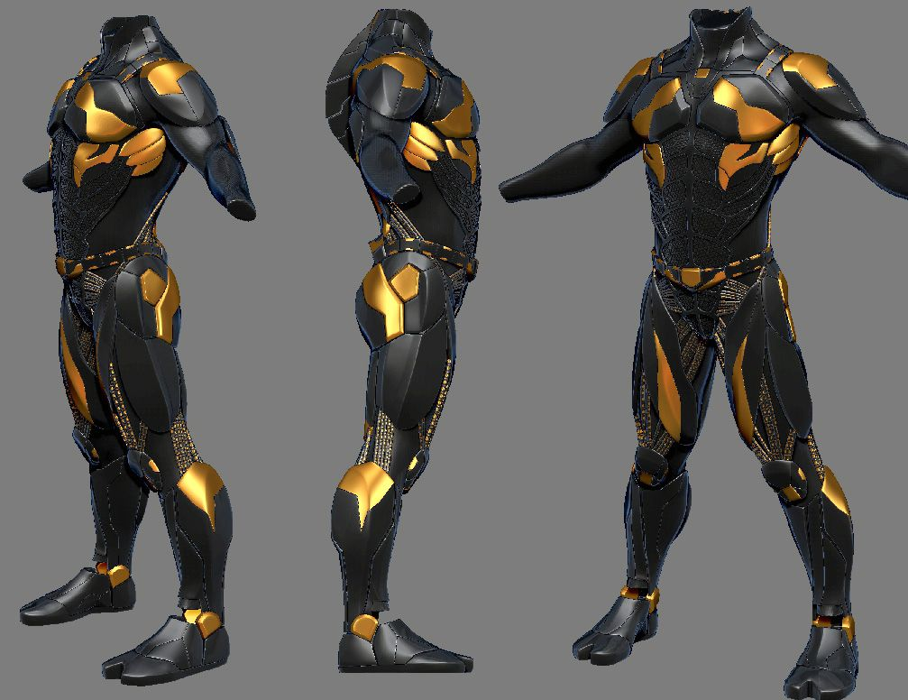Suit Scifi 2 By Sidimention On Deviantart In 2020 Armor Concept Futuristic Armour Fantasy Armor