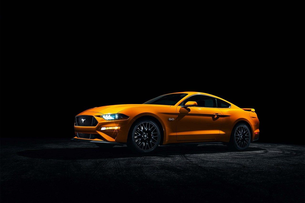 2018 Mustang Gt Performance Package In Orange Fury Tri Coat Shown