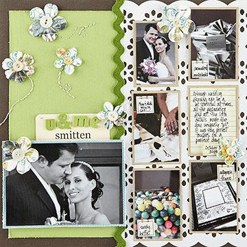 A Collection Of Wedding Sbooking Layouts And Embellishments To Make Beautiful Memory Al Description From Weddingacce
