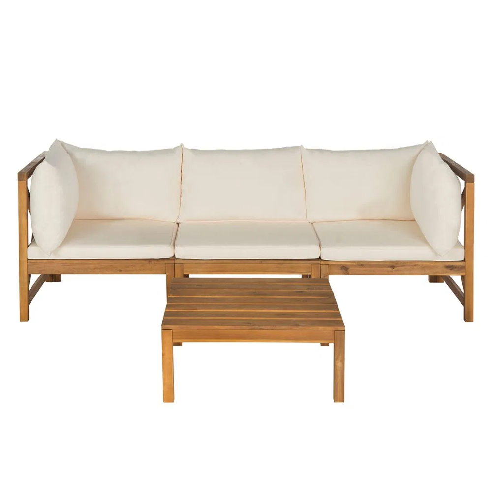 Home24 Sitzbank Sherwood Moebel Liebe Com Aussenmobel Holzterrasse Lounge Garnitur