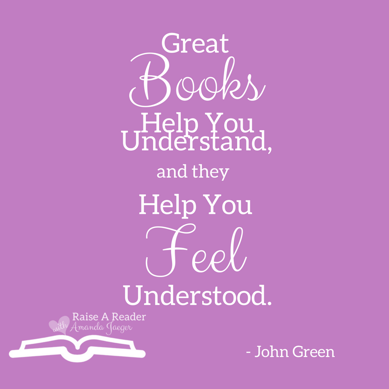 Great Books Help You Understand And They Help You Feel Understood John Green Raiseareader Bookquotes Quotesonreading Quote Bucher Zitate Zitate Lesen