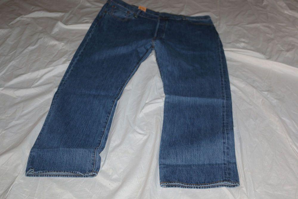 661870934e6 Details about Levi's 501-1662 Fill Shrink To Fit Jeans Cobalt Blue ...