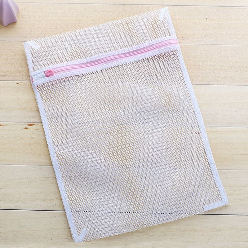 Details About Practical Thick Mesh Laundry Washing Bag For Hosiery