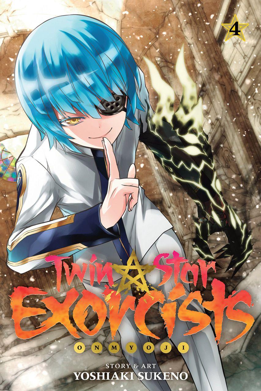 Twin Star Exorcists 4 cover by Yoshiaki Sukeno Twin