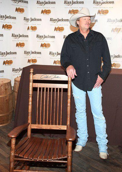 Alan Cracker Barrel Rocking Chair Alan Jackson Allen