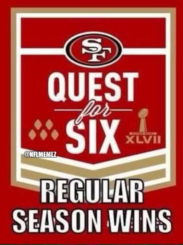 """NFL Memes on Twitter: """"49ers new motto next year. http://t.co/iCsai3xwo1"""""""