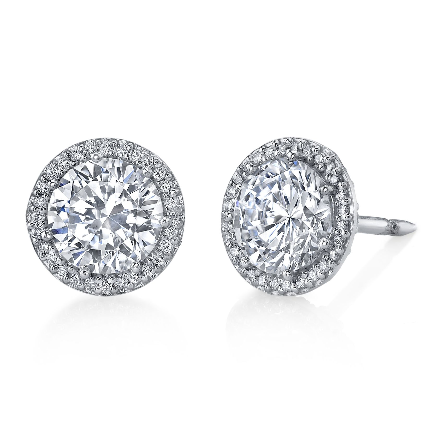 Explore Diamond Studs Halo And More Stud Earrings Tacori