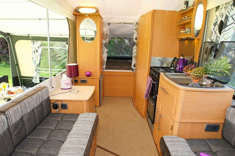 Pathfinder Folding Camper 2013 - my idea of camping with a small trailer...-D