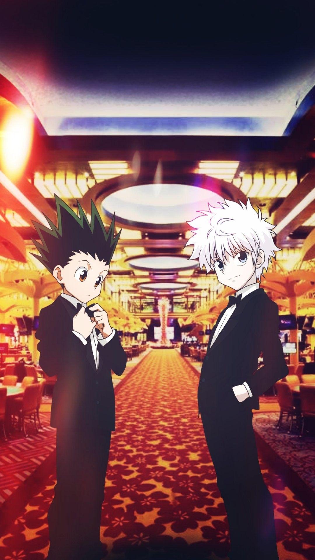ɢᴏɴ X Á´‹ÉªÊŸÊŸá´œá´€ Fond D Ecran Telephone Kirua Dessin Manga