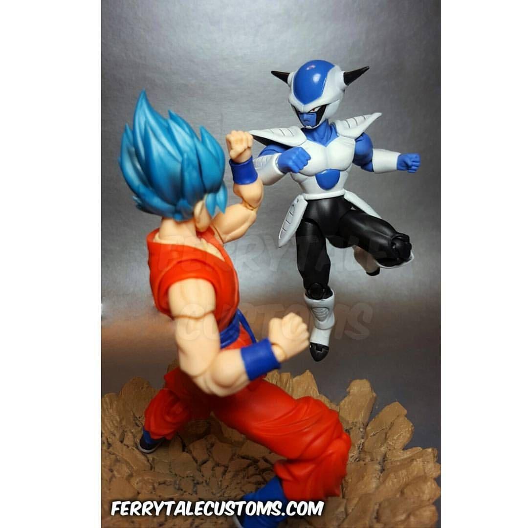 Pin By Whinn On Customs Dragon Ball Z Custom Action Figures Goku Vs
