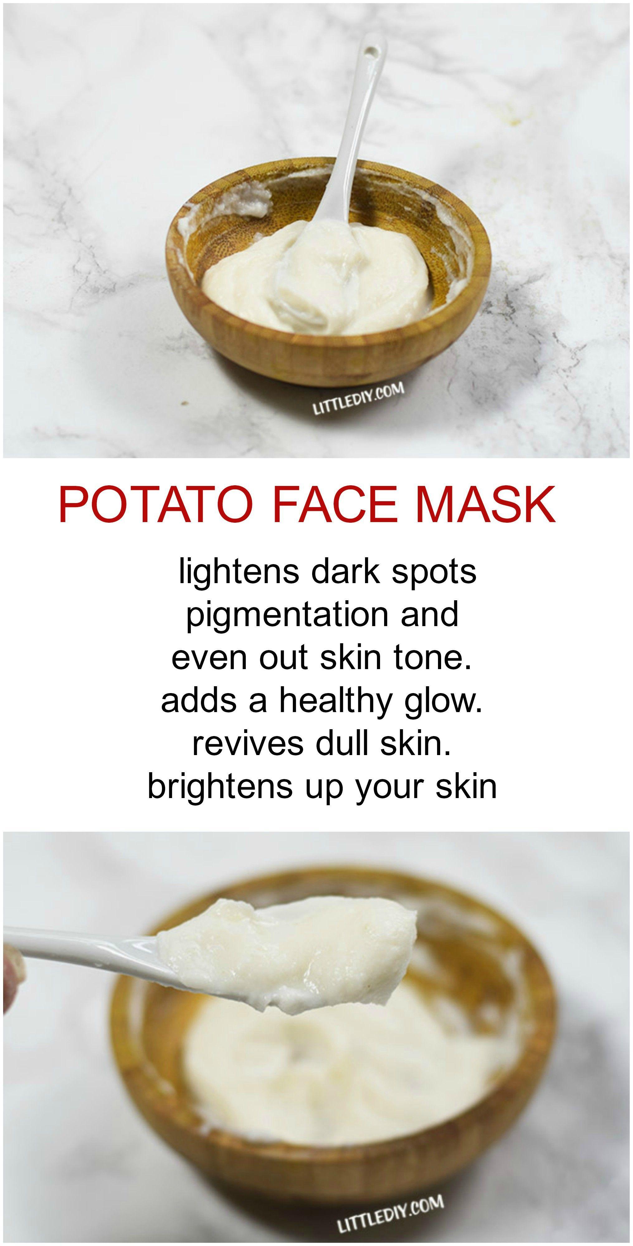 POTATO TO BRIGHTEN SKIN AND FADE PIGMENTATION Potato