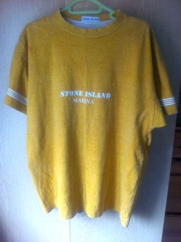 d09be0025eb Vintage Stone Island Marina T-shirt | Massimo Osti in 2019 | Stone ...