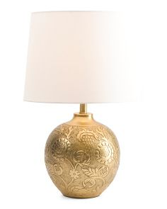 Made in india floral embossed table lamp habliments pinterest made in india floral embossed table lamp mozeypictures Choice Image