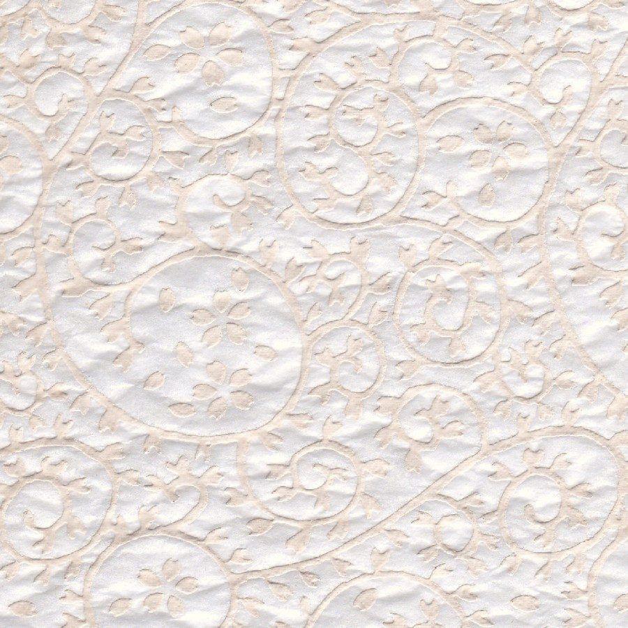Ceramic transfer raised paisley white in 2020 transfer