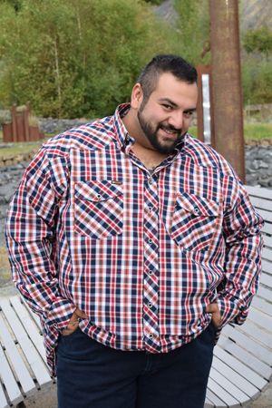 Mode für übergewichtige männer