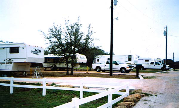 Hofbrau RV Park Marble Falls Round Mountain TX Passport America Campgrounds