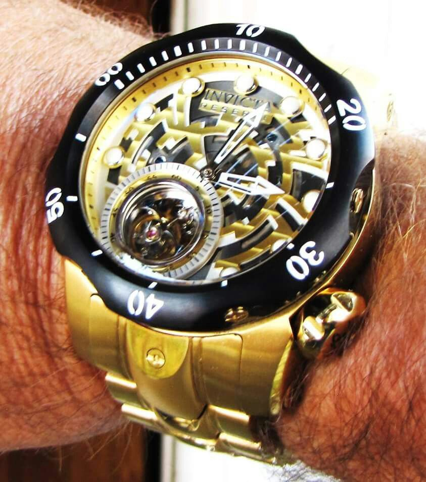 1d2302e1875 Invicta reserve venom tourbillon custom liquid chrome