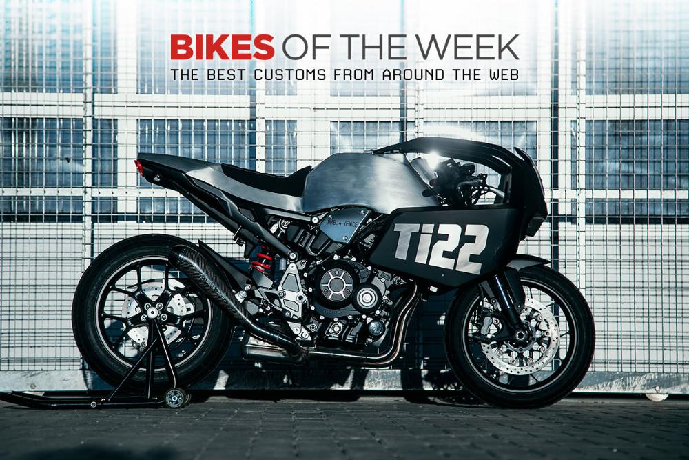 Custom Bikes Of The Week 2 February 2020 In 2020 Custom Bikes Bike Honda Dominator