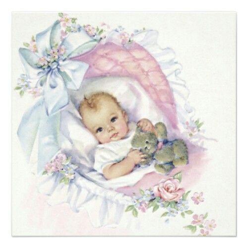Вечер, картинки для открыток новорожденных