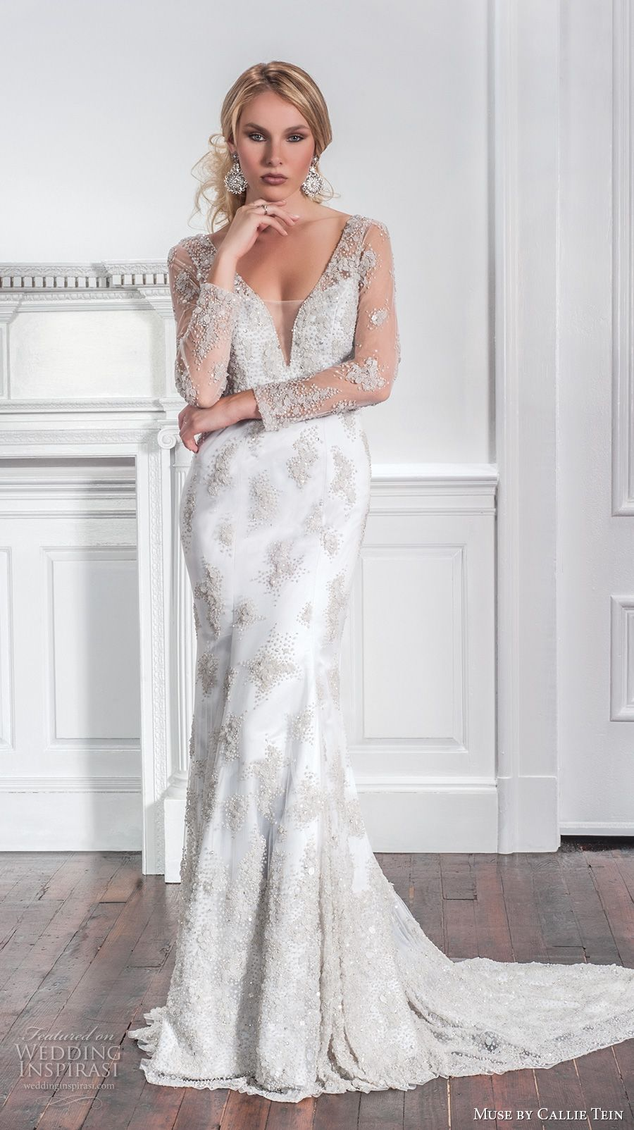 Muse by callie tein fall wedding dresses sexy flare and wedding