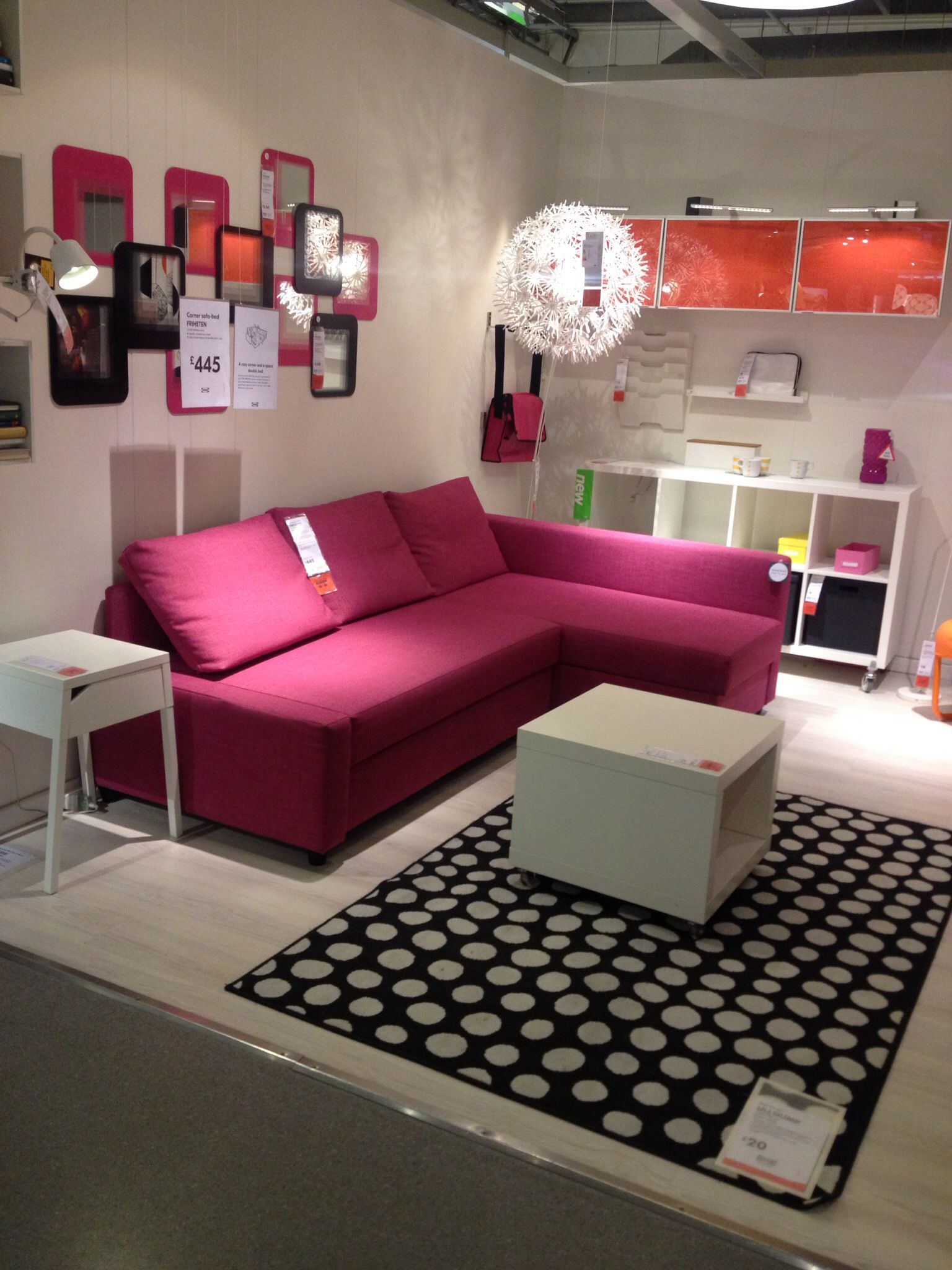 Sleeper Sofas For Small Areas Spinmaster Marshmallow Flip Open Sofa Disney Frozen Bed Friheten The Home Settee
