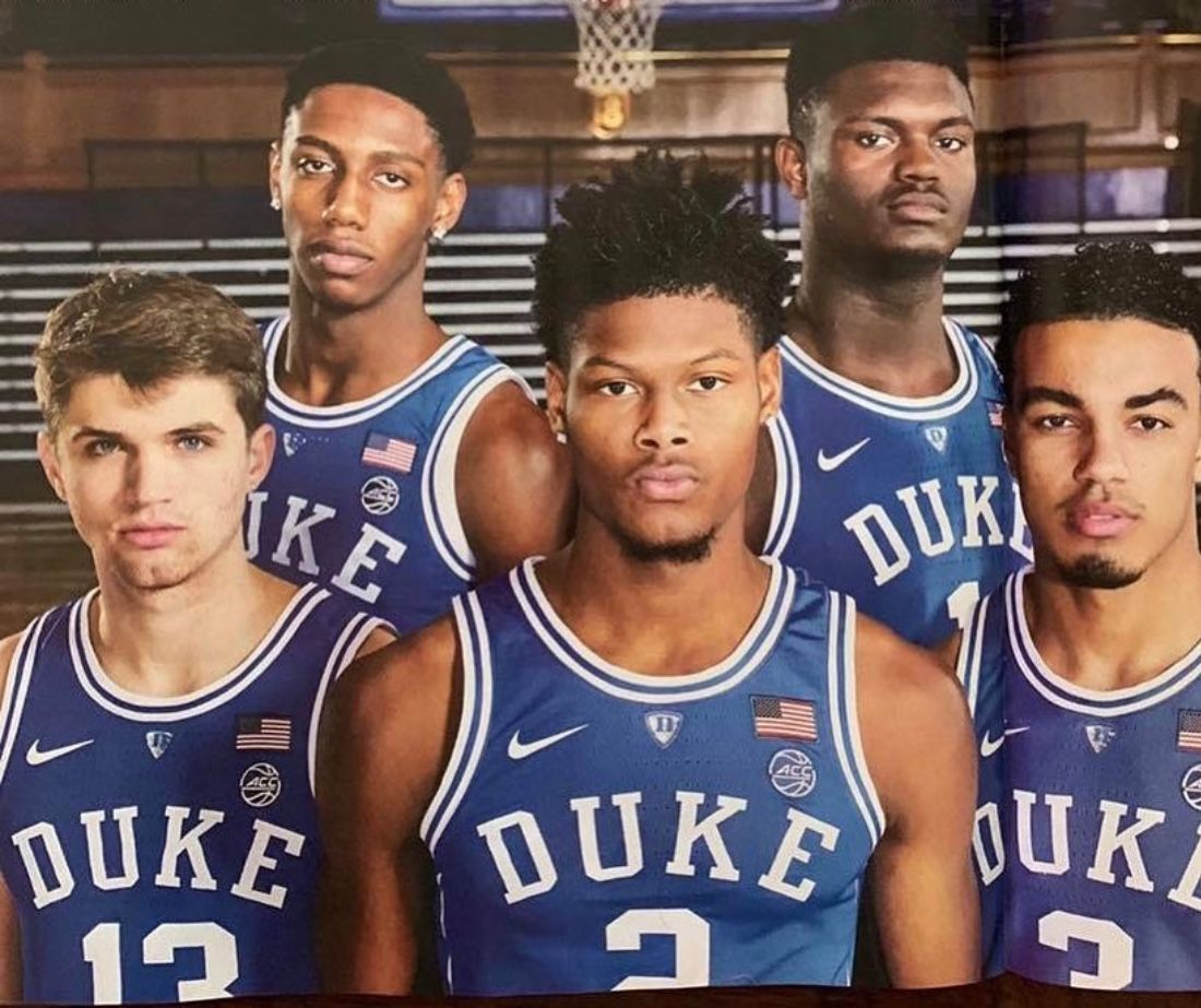 The Five. Duke blue devils basketball, Duke blue devils