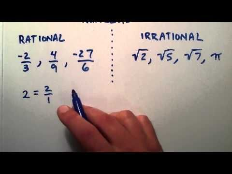 Pin By Paul Bailey On Learn Math Tutorials Irrational Numbers, Math  Methods, Math Tutorials