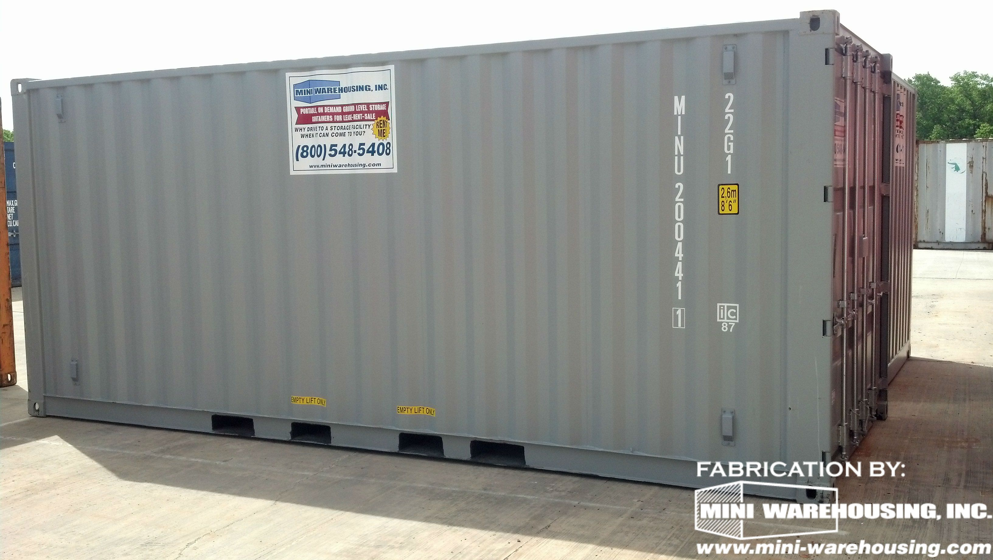 Portable Storage Containers available for rent or purchase ...