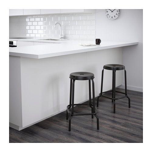 R 197 Skog Tabouret De Bar Noir Chalet D 233 Co Achat