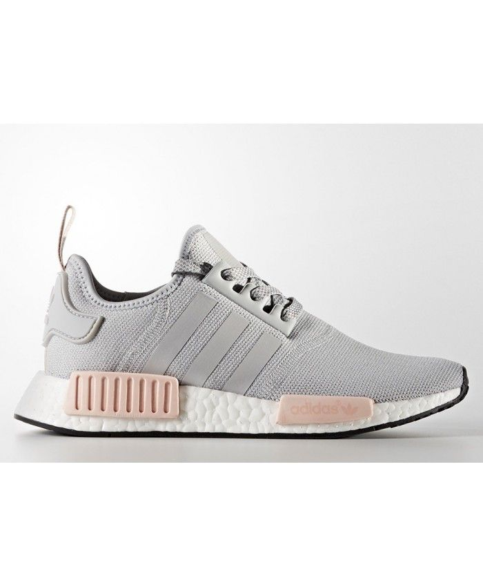 6b6e059bd1 Adidas NMD Clear Onix Pink Grey Shoes Wearing a very comfortable  breathable