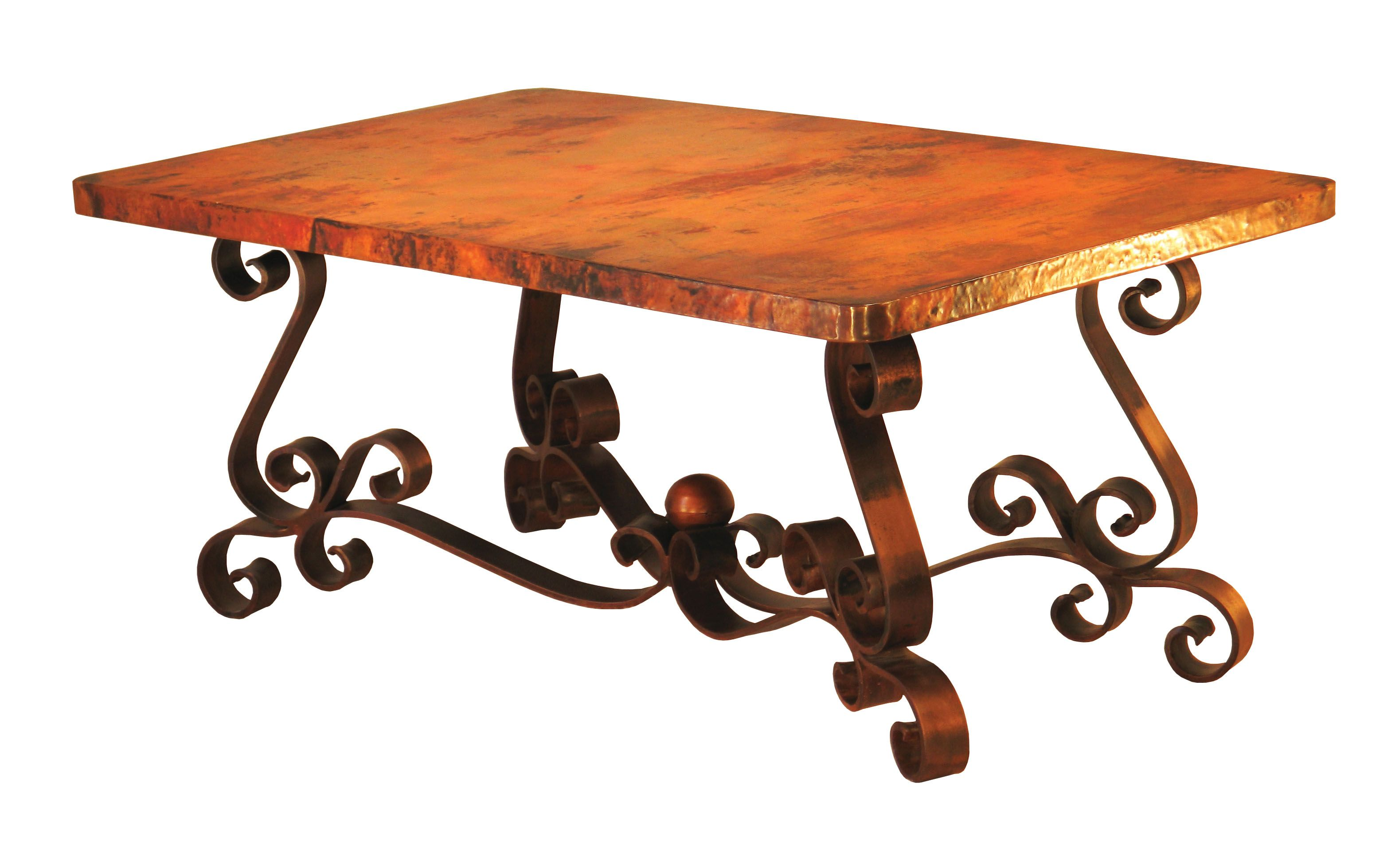 Copper Top Dining Table Rectangle Google Search Kitchen