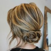 60 Trendiest Updos for Medium Length Hair  #hairstyles #Braided_up_dos #Braide#H…