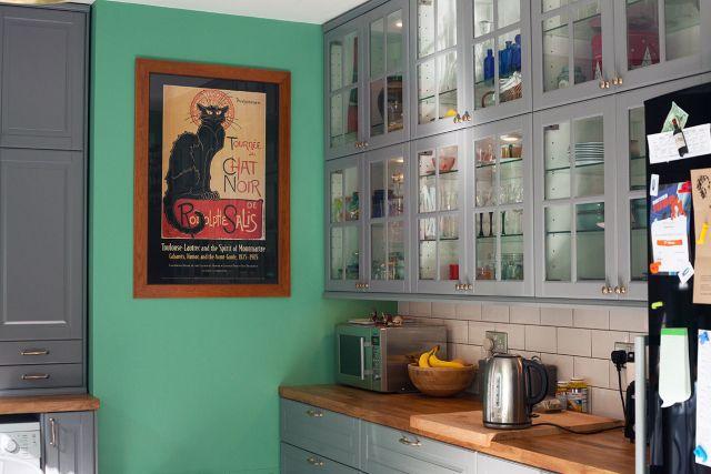 Best My Finished Ikea Bodbyn Grey Kitchen Kitchen Plans 640 x 480