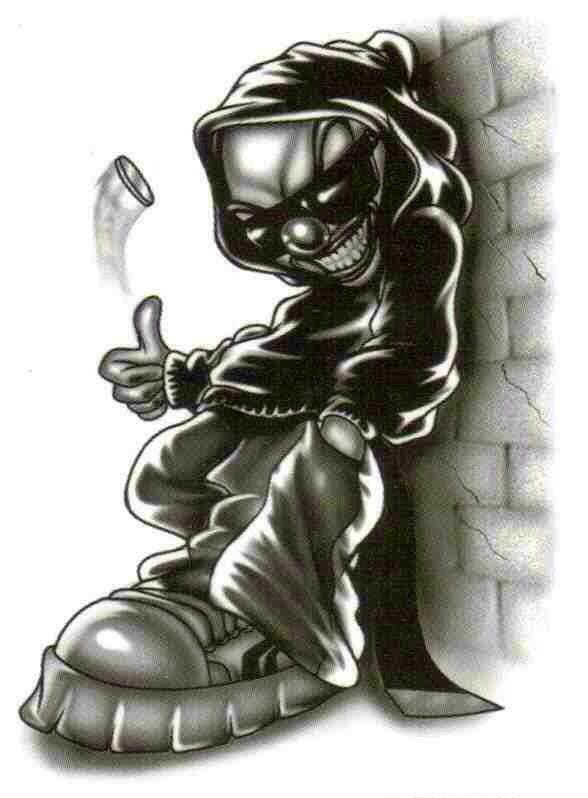 Lowrider Art | Chicano... Lowrider Arte Joker