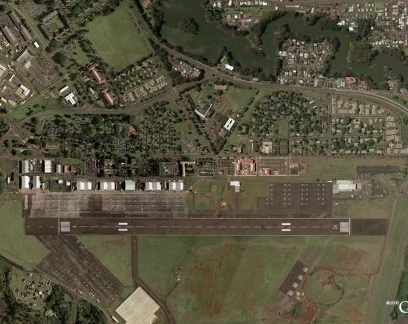 Wheeler Army Airfield Near Schofield Barracks in Wahiawa Hawaii