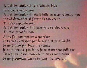 petit poeme romantique