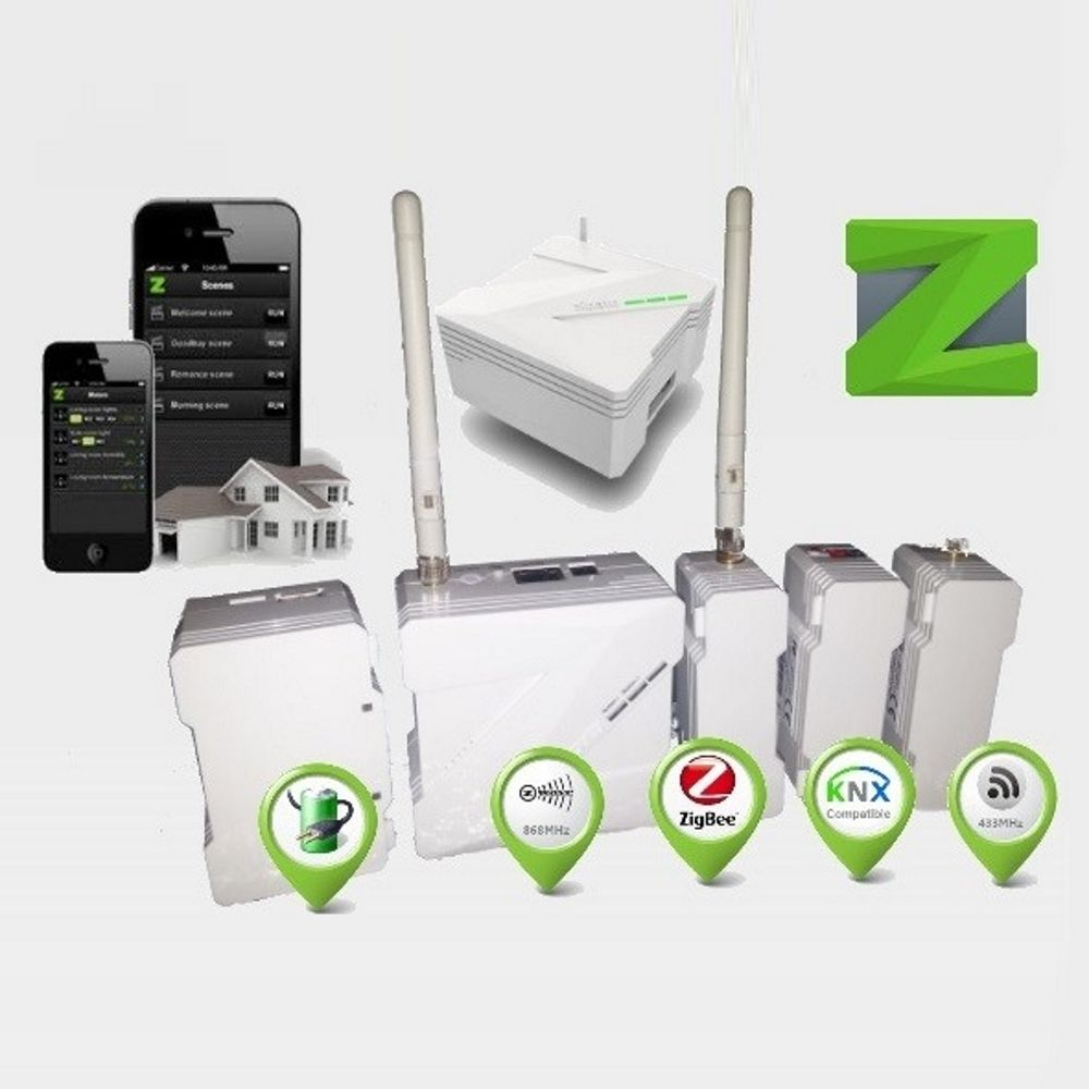 Control your entire home w/ Zipato Zipabox! Home automation, Security, Video & Energy monitoring - Supports Z-Wave, Zigbee, KNX, EnOcean, 433MHz & RS232   HA World Online
