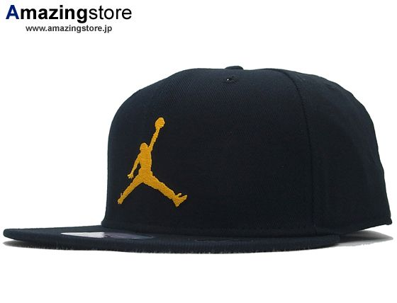 53d7db8db5ec91 Jumpman Black-Gold 59Fifty Fitted Baseball Cap by JORDAN BRAND x NEW ...