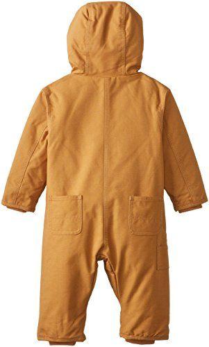 555d784c9 Amazon.com: Carhartt Baby Boys' Quick Duck Snowsuit: Clothing | Baby ...